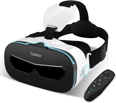 Virtual Reality Headset, VR Headset 3D Glasses for 3D Movies and Games