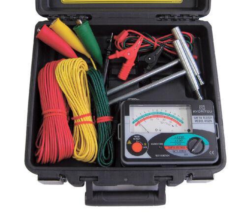 KYORITSU 4102A-H (Analog Ground Resistance Tester)