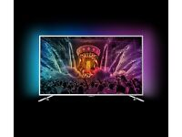 PHILLIPS 49 INCHES 4K Ultra Slim SMART Android TV FREESAT & FREEVIEW HD