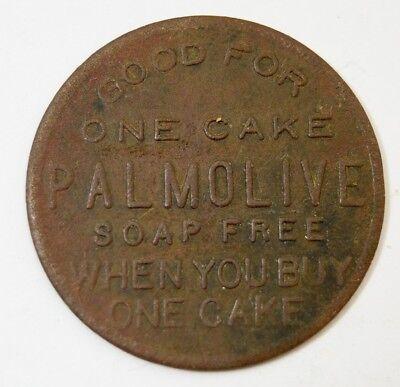 Vtg Palmolive Soap Token Check Good for one Cake Bar