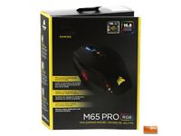 CORSAIR M65 Pro RGB (Black) 12,000dpi 8 Buttons Wired Optical Gaming Mouse BOXED