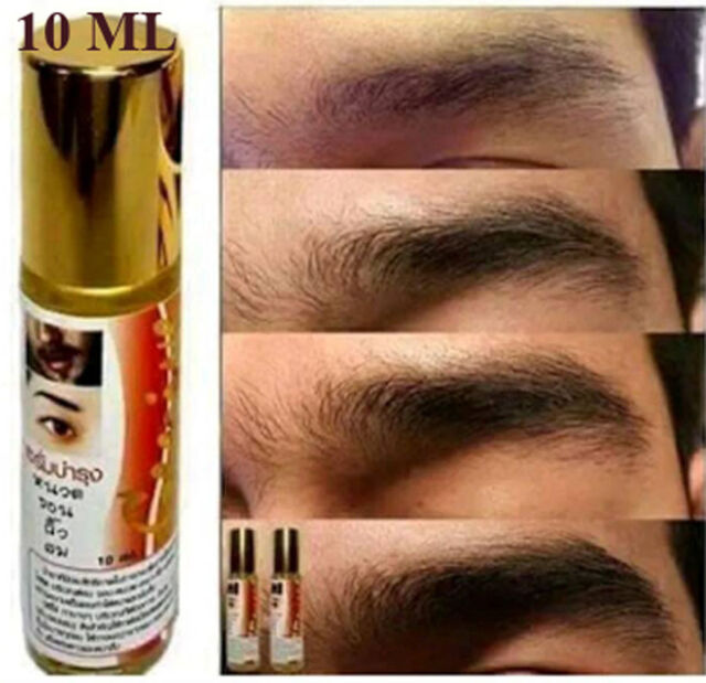 EYEBROW EYELASH STIMULATES HAIR GROWTH SERUM NATURAL LONGER & THICKER