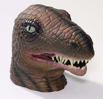 Latex Dinosaur Mask Large Realistic TREX Head Face Halloween T-Rex Mens Adult
