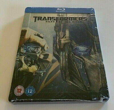 Transformers: Dark of the Moon  UK  Blu-ray Embossed Steelbook