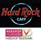 Cafe Pub Bord / Metalen Wandbord - HARD ROCK CAFE