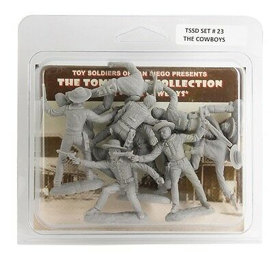 """The Cowboys 1/30 Scale 8 figures 60mm 2.5"""" TSSD Set #23 Tombstone Collection"""
