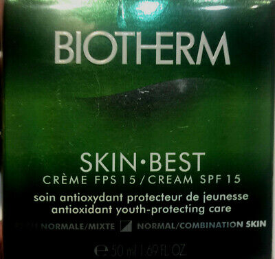 BIOTHERM SKIN.BEST SPF15 HYDRATING PROTECTING CREAM FOR D/C SKIN 50 ML.