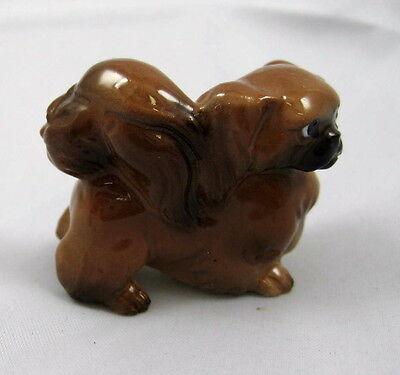 Hagen Renaker miniature made in America Pekinese Pekingese dog standing