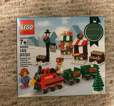 Lego 40262 Mini Christmas Holiday Train Ride set new sealed