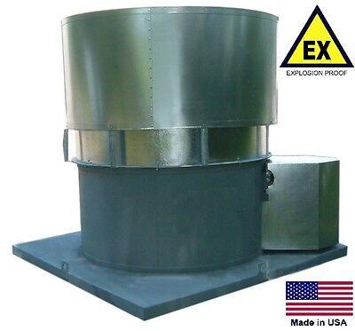 Roof Ventilator Fan - Explosion Proof - 18 - 13 Hp - 230460v - 3375 Cfm  Dry