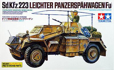 Tamiya 35268 German Sd.Kfz.223 Leichter Panzerspahwagen Fu 1/35 scale kit