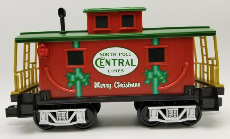 Lionel Ready to Play North Pole Central Lines Caboose Train Car Replace / Add On