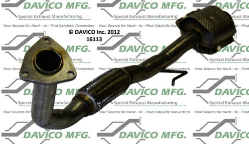 Catalytic Converter-Exact-Fit Rear Davico Exc CA fits 92-96 Toyota Camry 2.2L-L4