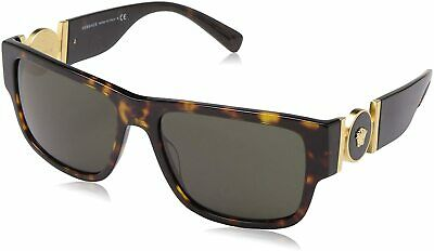 VERSACE VE4369 108/82 58mm UNISEX SUNGLASSES HAVANA / GREEN LENS [58-17-140]