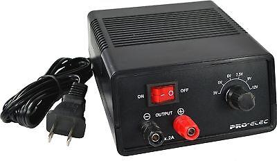 Battery Eliminator, Power Supply, AC to DC, 3V, 5V, 6V, 7.5V, 9V, 12V Outputs 2