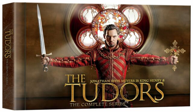The Tudors: Complete TV Series Seasons 1 2 3 4 DVD Boxed Set Collection NEW!