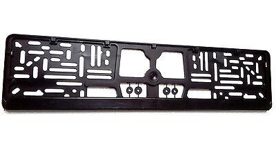 License Plate Frame Holder (European Euro License Number Plate Frame Tag Holder Mount FREE SHIPPING !)