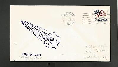 - MISSILE FIRED SUB POLARIS LEWIS & CLARKE GOLD MAR 3,1966 PATRICK AFB