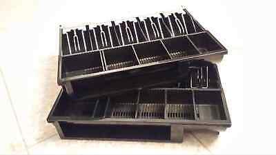 Cash Drawer Box Register Insert 5 Bill Tray W6 Adjustable Coin 14 X 11.5 X 2.25