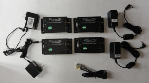 Lot of 4, Digi XStream-PKG 2.4GHz RS-232/485 9.6kbps RF Modem 50001391-21 USED