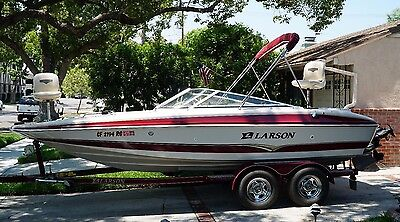 20' 2005 Larson Escape 204 Fish & Ski 270HP - ONLY 173 HOURS! - TURNKEY! -CLEAN!