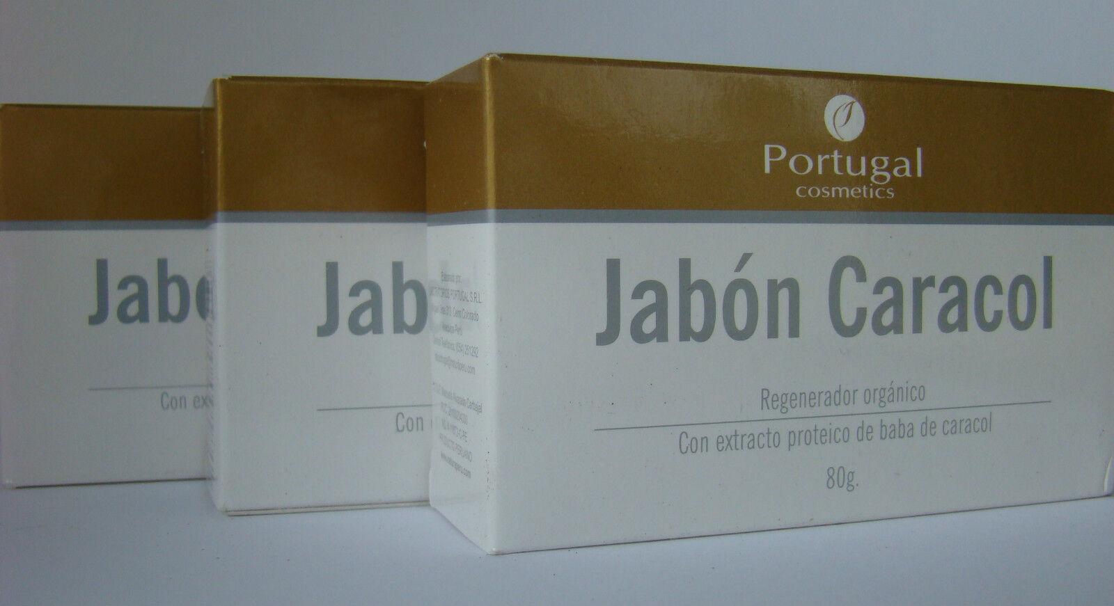 Jabon Baba De Caracol (snail Soap ) 3 Pack