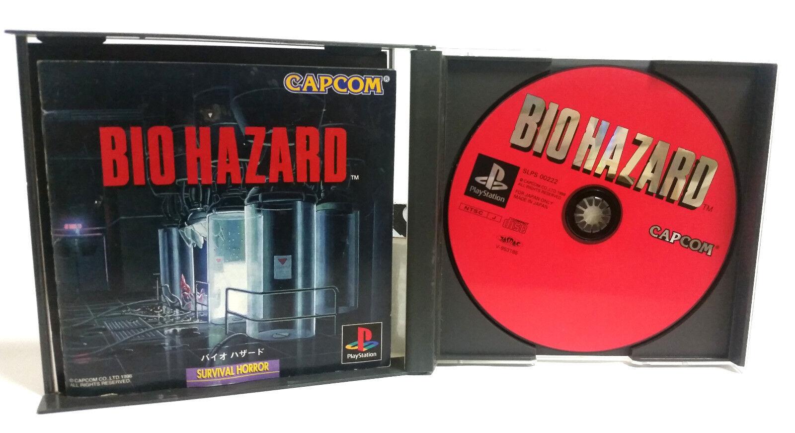 Biohazard Ps1 Resident Evil Survival Horror Japanese Import Used Revelations Ps4 Region 3 English 2 Of