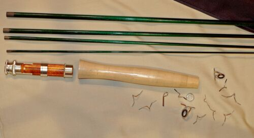 IM6 4PC 2WT 6ft 6in FLY ROD KIT,  translucent dark green, sold by Roger