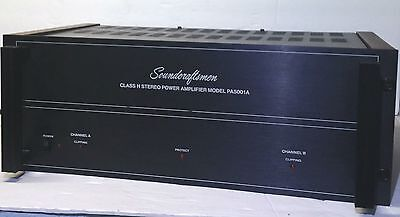 Vintage Rare Soundcraftsmen PA5001 Stereo Power Amplifier Amp. Made in USA.