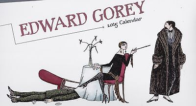 Edward Gorey 2015 Wall Calendar   New