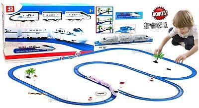Pista Tren A Batería Eléctrico Grande cm.513 Pista Trenes para Niños