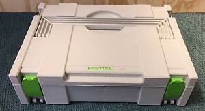FESTOOL Systainer Tool Box. Storage - As New Condition Paradise Campbelltown Area Preview