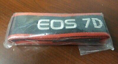 CANON EOS 7D CAMERA NECK STRAP   Black / Red