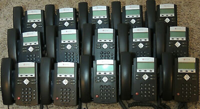 Lot Of 15 Polycom Soundpoint Ip 331 2-line Voip Business Telephones
