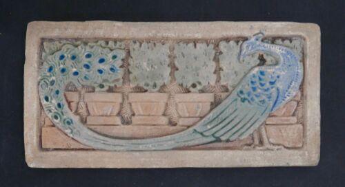 Claycraft Peacock Tile California Vintage