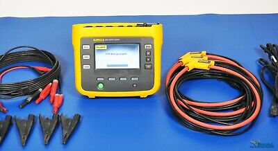 Fluke 1730 3 Phase Electrical Energy Logger Three Phase Power Nist Calibrated