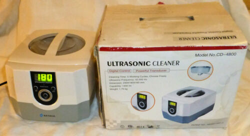 Kendal CD-4800 Digital Ultrasonic Professional Cleaner Jewellers Watchmakers SS