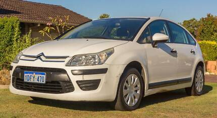2009 Citroen C4 MY09 Exclusive White 4 Speed Automatic Hatchback Noranda Bayswater Area Preview