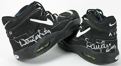 Suns Dan Majerle Signed Game Used Nike Uptempo Size 14.5 Shoes PSA DNA   AC43251 2e0473dd3