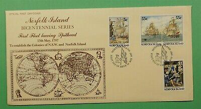 DR WHO 1987 NORFOLK ISLAND FDC BICENTENNIAL SERIES  C241338