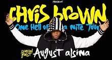2X CHRIS BROWN | MELBOURNE | GOLD RESERVED SEATING Mill Park Whittlesea Area Preview