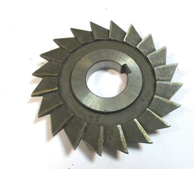 Angle Milling Cutter Hss D 80 X9x22 24 With Eckradius Ca.1 Of Wmw Pws