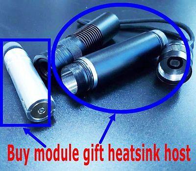 445nm 2w Blue Diode Laser Modulegift Focusable Diy Heatsink Host