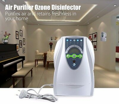 New Household Air Purifier Disinfection Disinfector Ozone Generator Clean