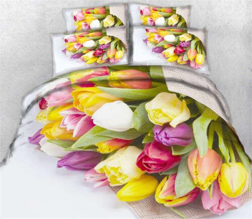 Happy Women's Day 3D Printing Duvet Quilt Doona Covers Pillo