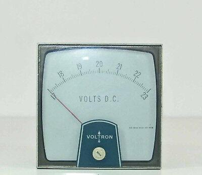 Voltron 17-23 Volt 0-100 Ma Dc Panel Meter