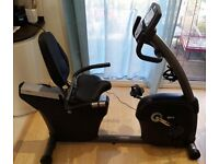 Horizon Fitness R4000 Premier Recumbent Bike - Excellent condition