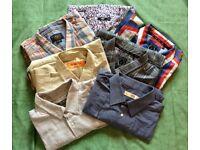 Large bundle of men's clothes XXL