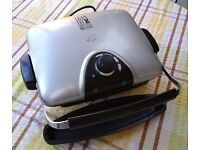 George Foreman Variable Temperature Grill with Removable Plates *Good Condition*