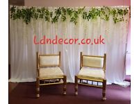 Mehndi, Nikkah, Wedding Decor London
